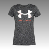 tričko Under Armour UA Women's Tech™ Graphic Twist Short Sleeve