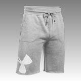 Men's UA Rival Fleece Exploded Logo Shorts