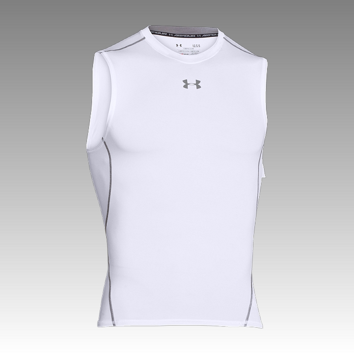 tričko Under Armour Heatgear Armour Sleeve Less Compression Tee
