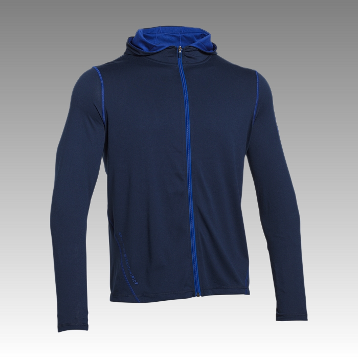 Long Sleeve Tech Full Zip Hoodie