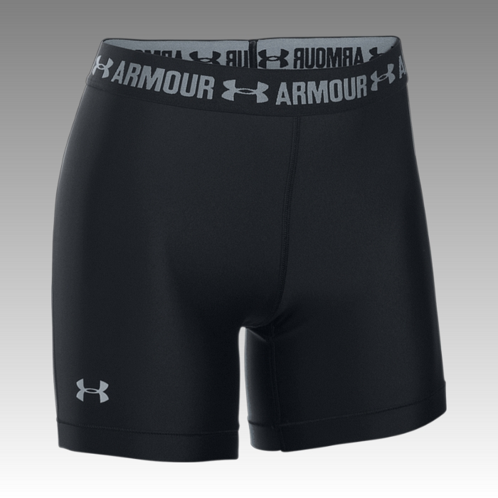 šortky, kraťasy Under Armour Women's HeatGear® Armour Middy Shorts