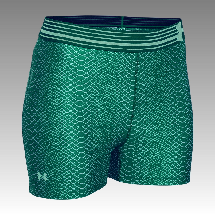 šortky, kraťasy Under Armour Heatgear Alpha Compression Printed Shorty