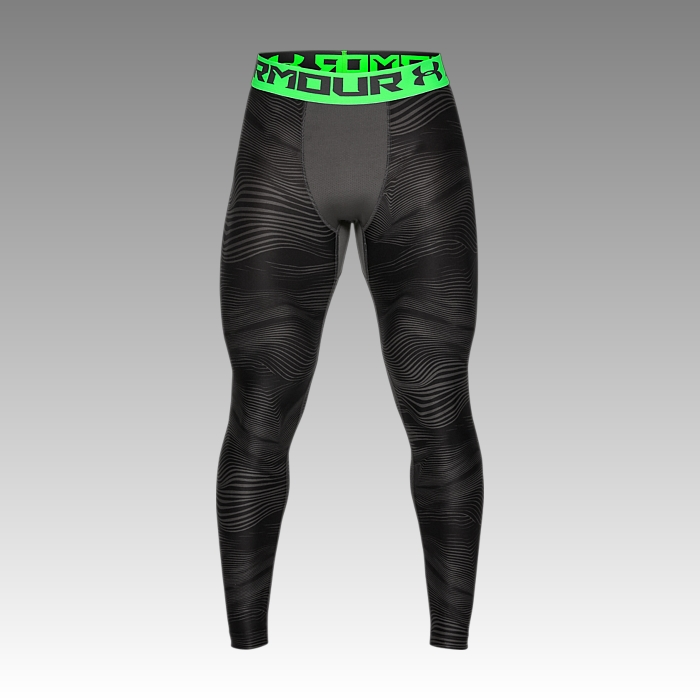 UA Men's HeatGear® Armour Printed Leggings