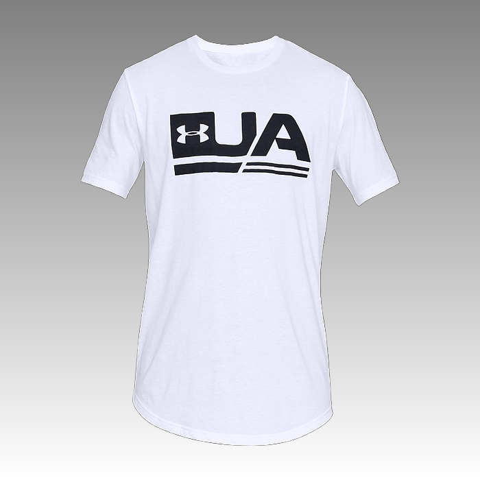 UA Men's Sportstyle Drop Hem Graphic T-Shirt