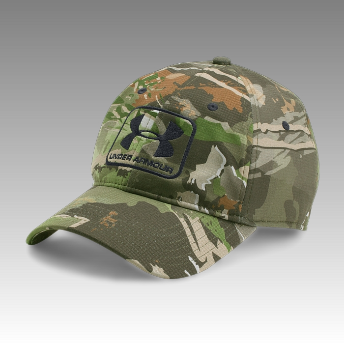 šiltovka Under Armour UA Men's Hunting Camo Stretch Fit Cap
