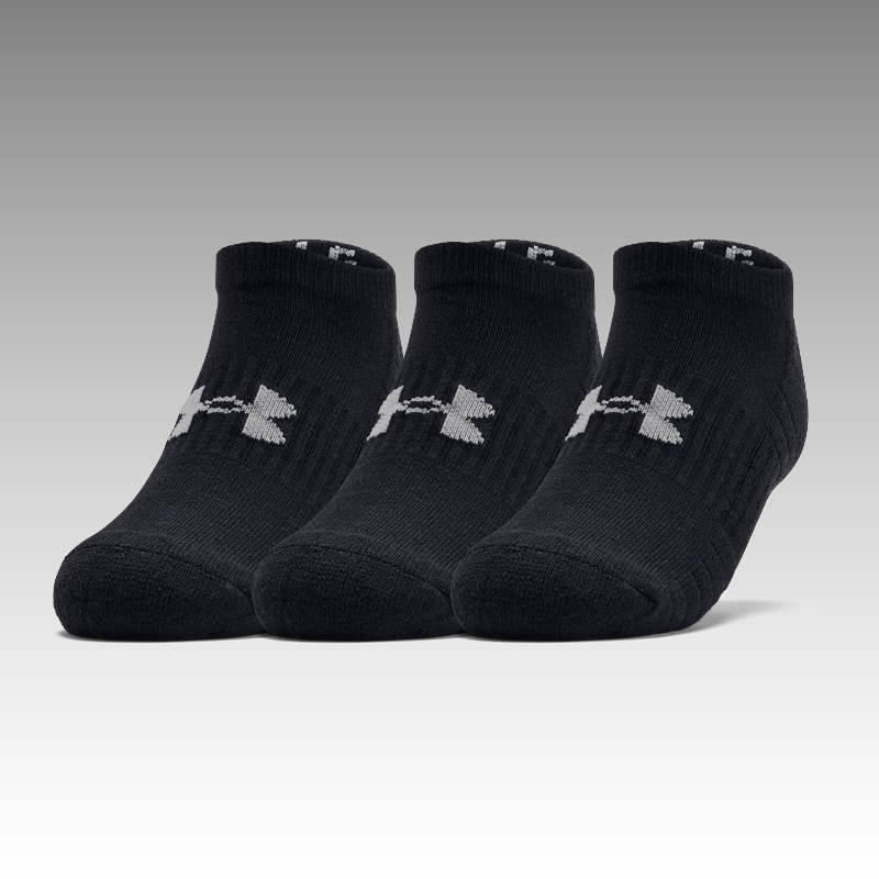 ponožky Under Armour Training Cotton No Show Socks 3-Pack