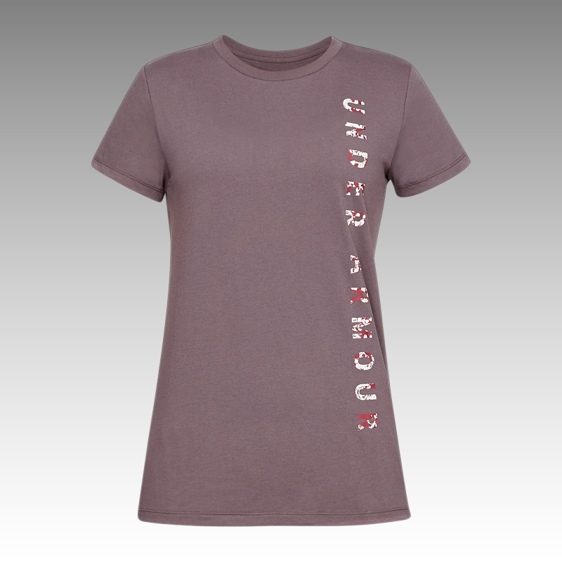tričko Under Armour UA Women's Vertical Wordmark Graphic Classic Crew
