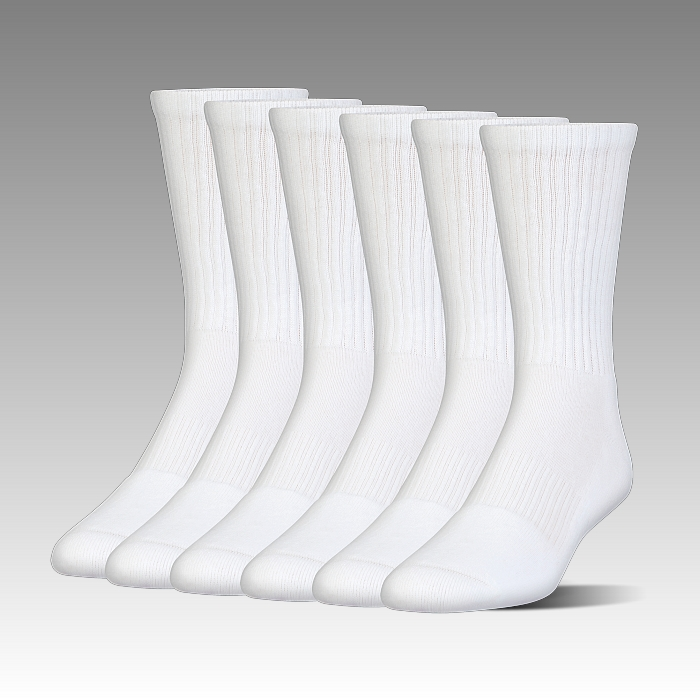 ponožky Under Armour Charged Cotton® 2.0 Crew Sock – 6-Pack