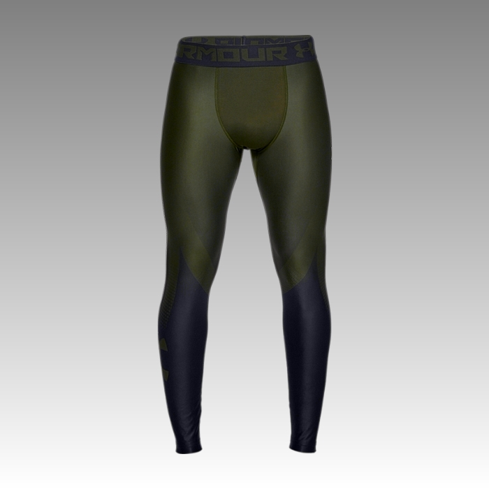 legíny Under Armour UA Men's HeatGear® Armour 2.0 Graphic Leggings