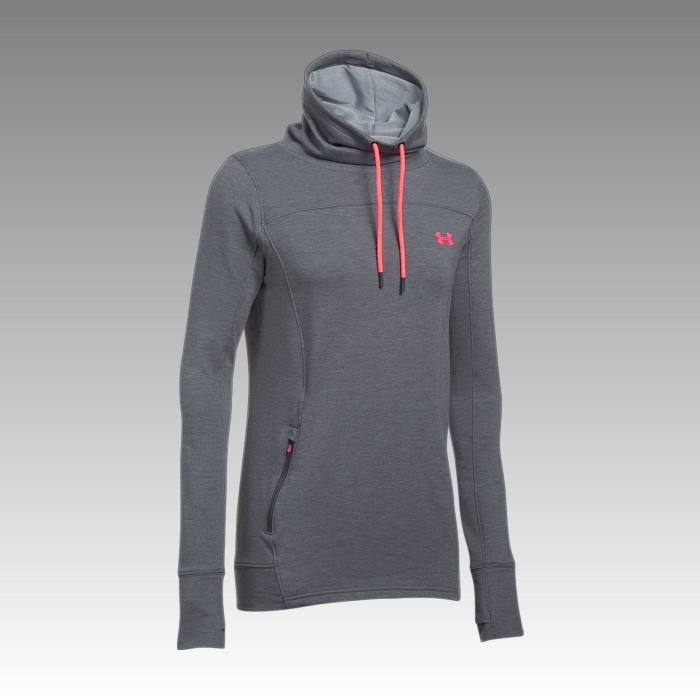 mikina Under Armour Women's Featherweight Fleece Slouchy Hoodie