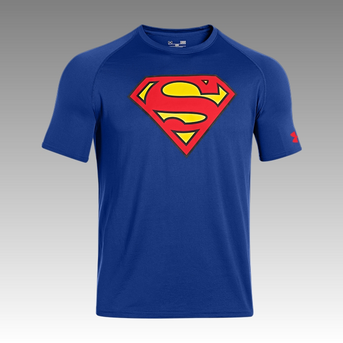 tričko Under Armour Alter Ego Superman Core Men's Graphic Tee