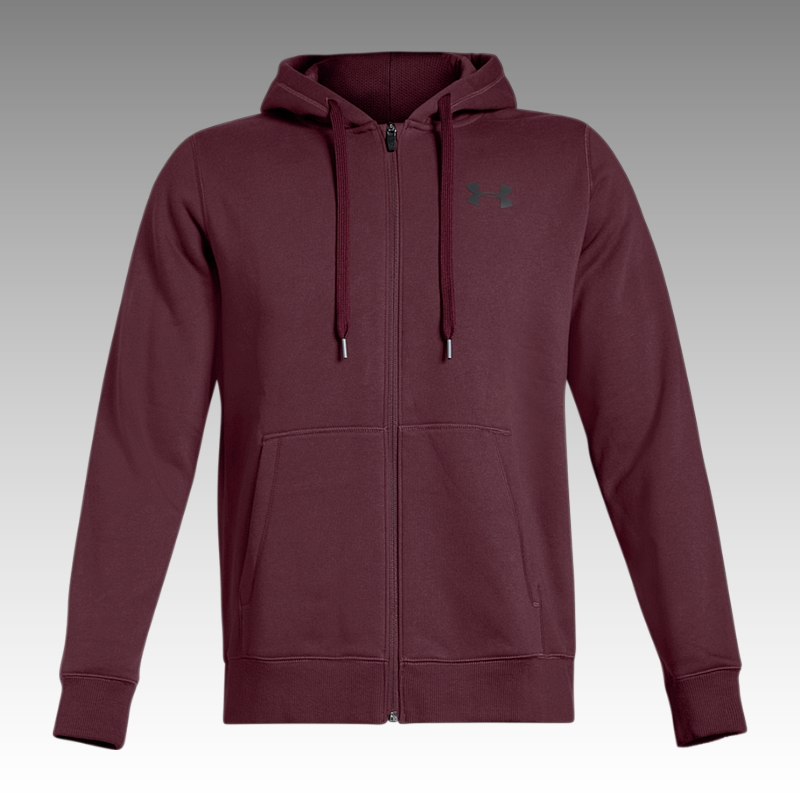 mikina Under Armour UA Rival Fleece Fitted Full Zip Men's Hoodie