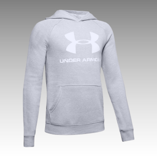 mikina Under Armour UA Boys' Rival Logo Hoodie