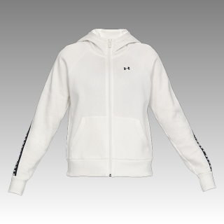 UA Women's Taped Fleece Full-Zip