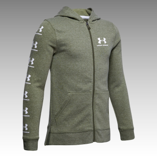 mikina Under Armour UA Boys' Rival Full Zip Hoodie