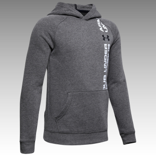 mikina Under Armour UA Boys' Rival Wordmark Hoodie