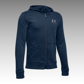 mikina Under Armour Boys' Rival Fleece Full Zip Hoodie