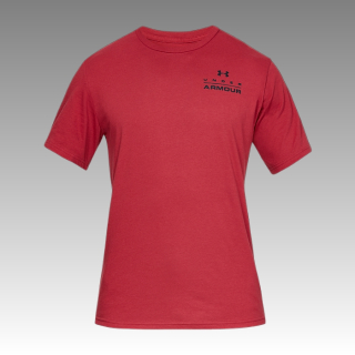 UA Men's Stacked Left Chest Short Sleeve