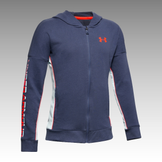 mikina Under Armour Boys' Rival Terry Full Zip