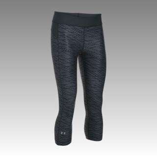capri Under Armour Women's HeatGear® Armour Printed Capris