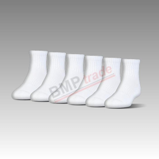Charged Cotton® 2.0 Quarter Length Socks – 6-Pack