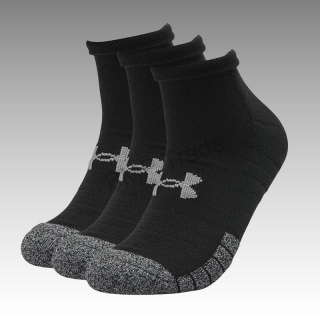 UA Adult HeatGear® Lo Cut Socks 3-Pack