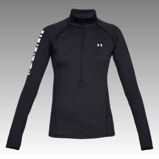 UA Women's ColdGear® Armour Graphic 1/2 Zip Long Sleeve Shirt