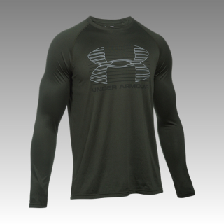 tričko Under Armour Men's Tech™ Rise Up Long Sleeve T-Shirt