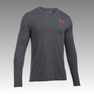 tričko Under Armour Men's Vertical Wordmark Long Sleeve T-Shirt