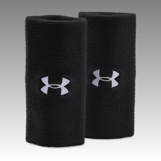 "6"" UA Performance Wristband 2-Pack"
