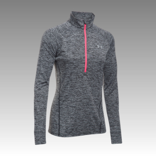 tričko Under Armour Women's Tech 1/2 Zip Long Sleeve Shirt - Twist