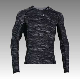 tričko Under Armour Heatgear Long Sleeve Compression Printed