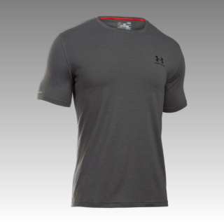 tričko Under Armour Charged Cotton Left Chest Lockup