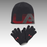 čiapka a rukavice Under Armour UA Boys' Beanie & Glove Combo Set