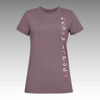 UA Women's Vertical Wordmark Graphic Classic Crew
