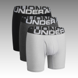 "boxerky Under Armour Men's Charged Cotton® 6"" Boxerjock® – 3-Pack"