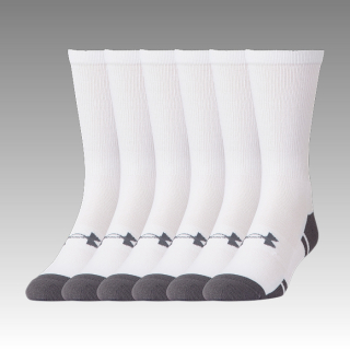 ponožky Under Armour Resistor III Crew Socks 6-Pack