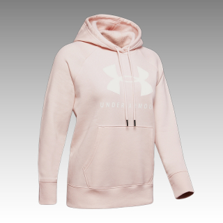 mikina Under Armour UA Women's Rival Fleece Sportstyle Graphic Hoodie