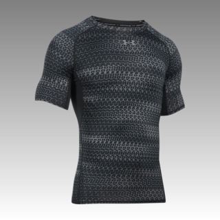 Heatgear Armour Compression Printed Short Sleeve